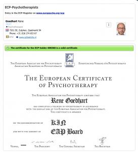 ECP-Psychotherapist ECP